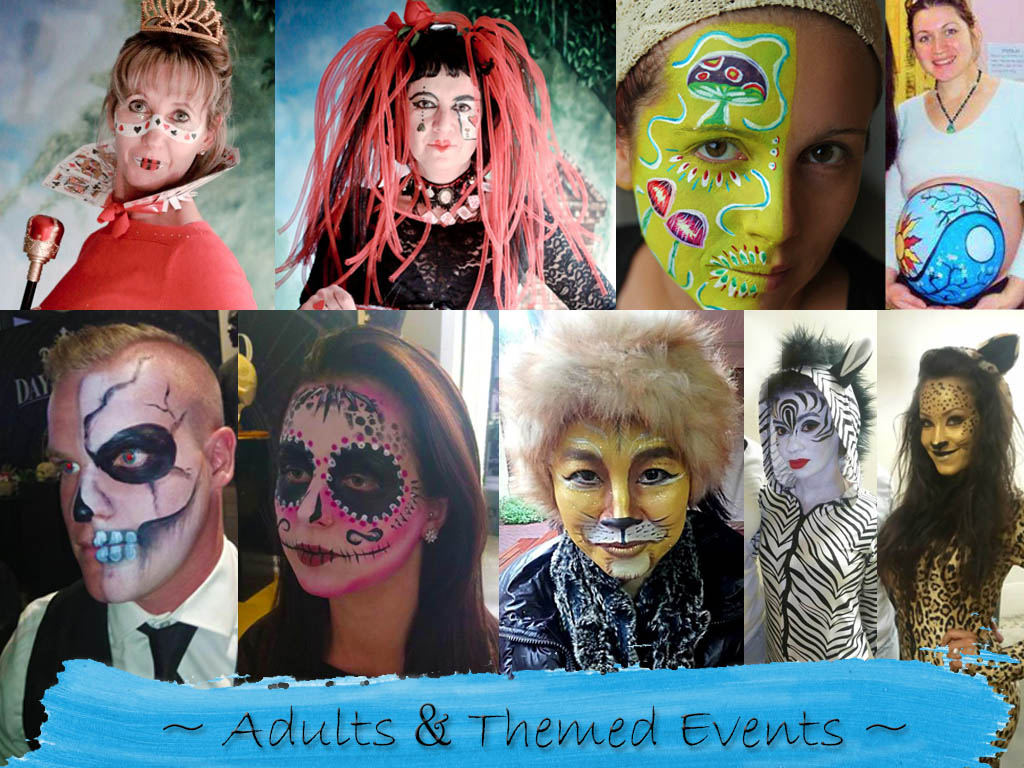 Themed face painting