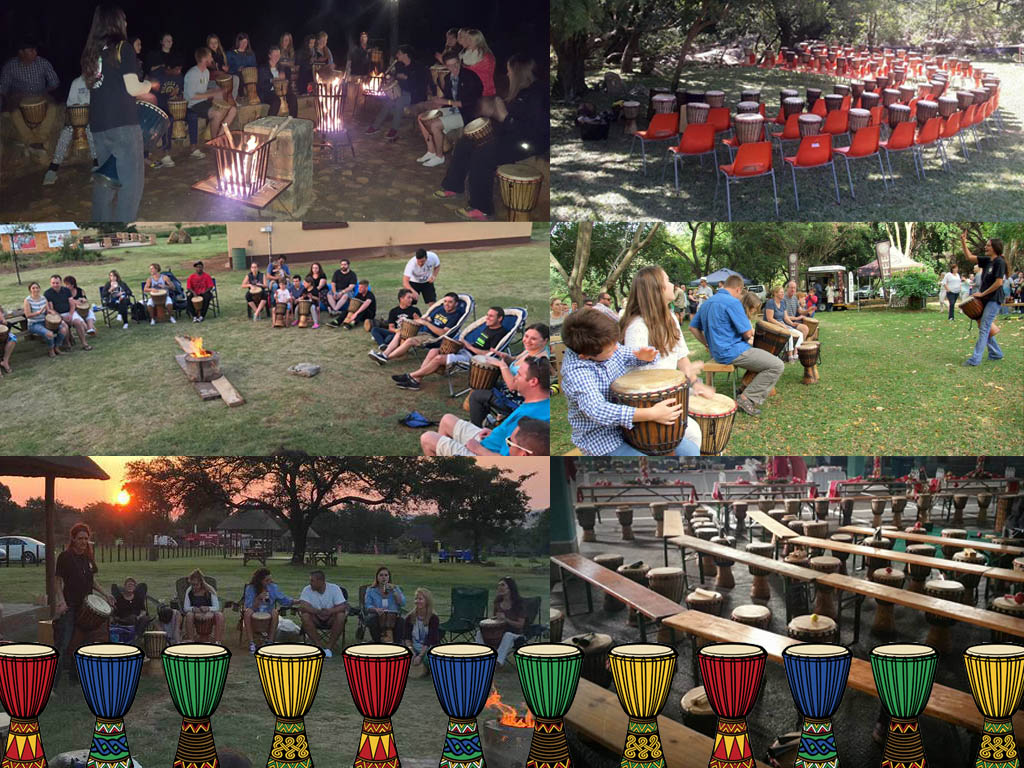Drumming for Team Building and Group Entertainment