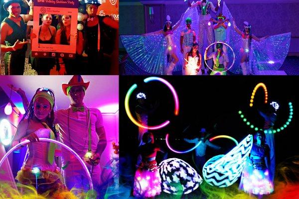 LED Dancing Show