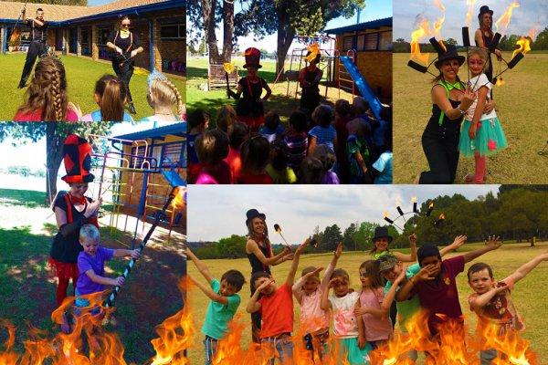 Kids Fire Dancing Show